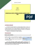 A)Formatos