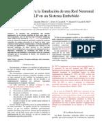 Metodología para la implantación de una red tipo MLP v4