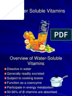 Vitamins Water Soluble