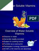 Vitamins Water Soluble