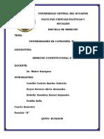 DERECHO CONSTITUCIONAL E