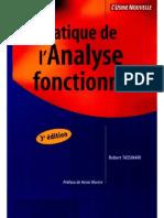 Pratique de l'Analyse Fonctionnelle