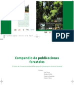Compendio Publicaciones Forestales en Paraguay