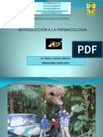 Farmacologia General 2012. Dr. José Colina