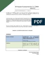 Información general de las unidades