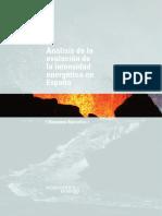 Análisis de la evolución de la intensidad energética en España(Es)/ Analysis of the evolution of the energetic intensity in Spain(Spanish)/ Intentsitate energetikoaren eboluzioari buruzko azterketa Espainian(Es)