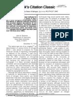 Bremner J M. Total Nitrogen. Agronomy 9 1149-78, 1965