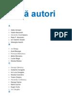 Lista autori