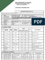 ECP Form Peshawar