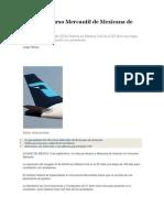 Inicia Concurso Mercantil de Mexicana de Aviación