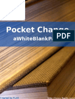 A White Blank Page - Pocket Change