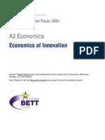 A2 Economics of Innovation