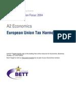 A2 European Union Tax ion