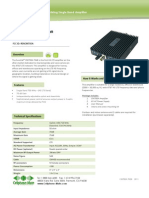 CM700A Amplifier 70 dB