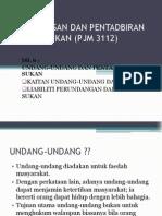 Pen Gurus An Dan ran Pj Dan Sukan (Pjm