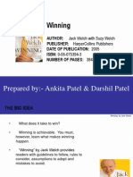 Winning by Jack Welch a&D
