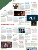 Womadelaide Program 2012