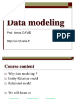 Data Modeling MIT2