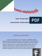 Dinamica relativista