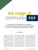Magic of Communication