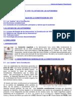 TEMA 18 Hª DE ESPAÑA CONSTITUCIÓN Y E DE AUTONOMÍAS