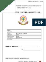 Lab Manual Format