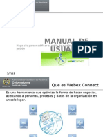 Manual de Usuario Webex