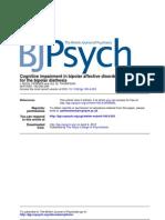 Cognitive Deficits in BAP