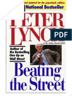Peter Lynch -- Beating the Street