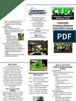 CERT Brochure