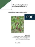 Caracterización de la Agrocadena Cacao