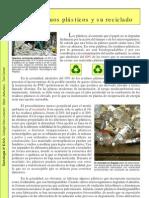 Los Residuos Plasticos y Su Reciclado