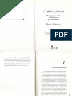 Ayudar a enseñar - capítulos 1 y 2 - Daniel Feldman