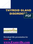 Thyroid Gland Disorders (Examville.com)