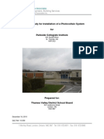 Parkside Collegiate Institute - Photo Voltaic Feasibility Report