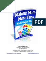 Math Games Ideas Samples