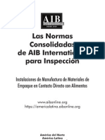 Las Normas as de AIB International Para Inspeccion