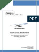 CENTRO E PERIFERIA-Recensão-Ana Rod
