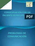 Conversacion Con El Paciente