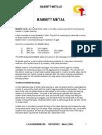 Babbit+Metal