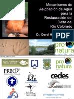 Mecanismos de Asignación de Agua Pronatura; Delta Colorado -Osvel Hinojosa