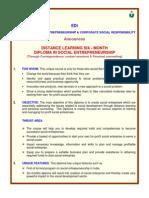 DIploma in Social Enter Pre Nu Reship