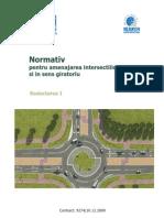 60527066 Normativ Pentru Amenajarea Intersectiilor La Nivel Si in Sens Giratoriu Red Act Area I[1]