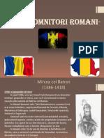 Mari Domnitori Romani-proiect a