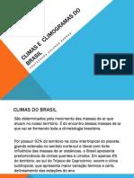 Climas e Climogramas Do Brasil
