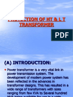 Protection of Ht & l t Transformer