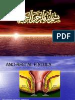 Fistulae in Ano