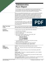 Representative Payee Report