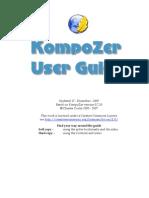 KompoZer User Guide