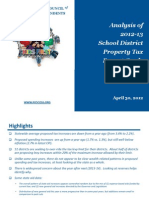 2012 Property Tax Card Analysis[1]